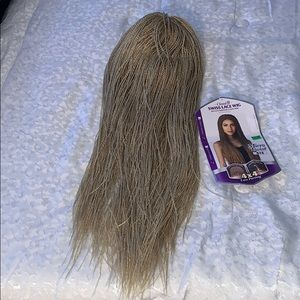 Other - Ash blonde two string twist wig